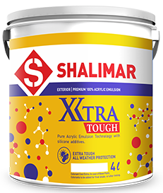 shalimar paints xtra tough emulsion