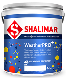 shalimar paints weatherpro plus emulsion