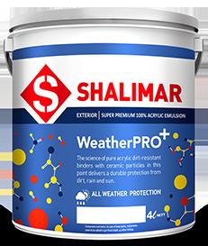shalimar paints weatherpro plus emulsion