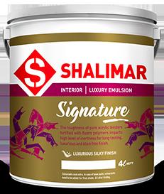 shalimar paints signature emulsion