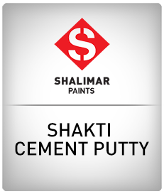 shalimar paints shakti cement putty
