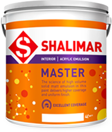 shalimar paints master emulsion